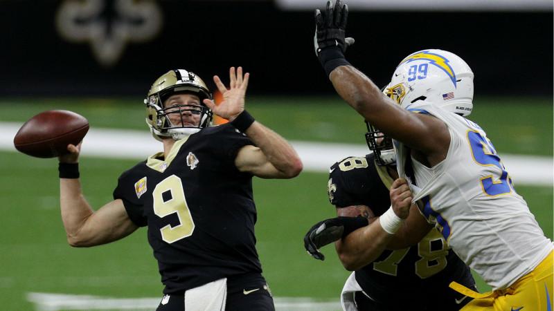 Los Saints de Nueva Orleans vencieron a los Chargers