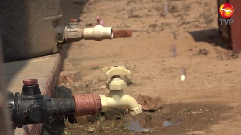 Se queda temporalmente sin agua Rosario