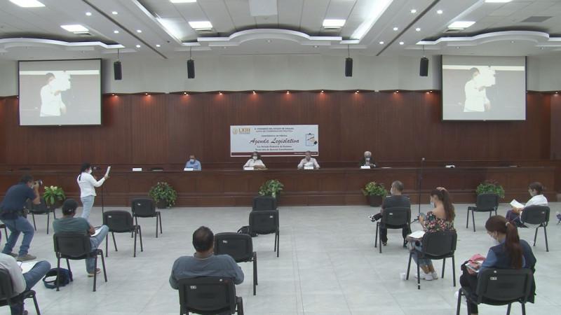 "Presenta JUCOPO agenda legislativa ""común"""