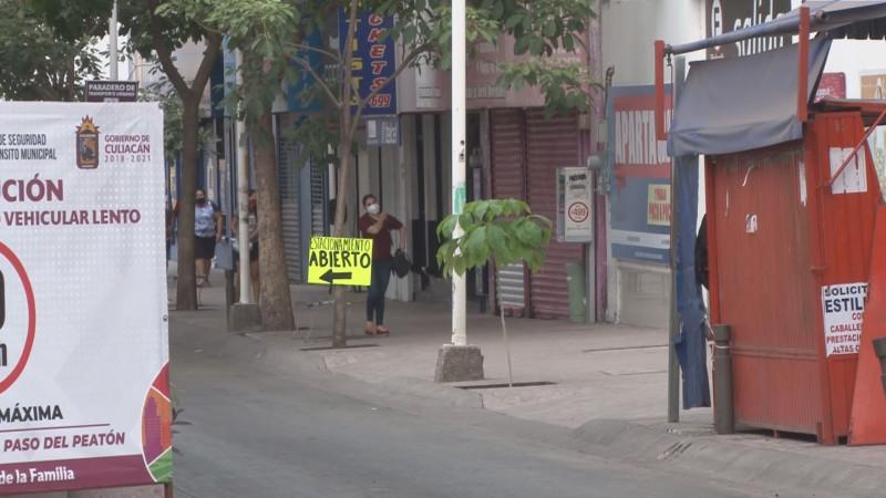 Seguirán las limitaciones de calles en el centro de Culiacán
