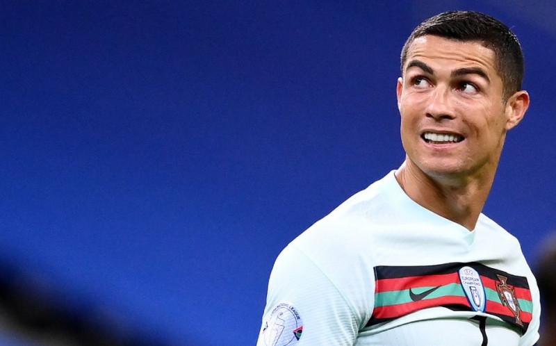 Cristiano Ronaldo violó el protocolo sanitario por COVID-19