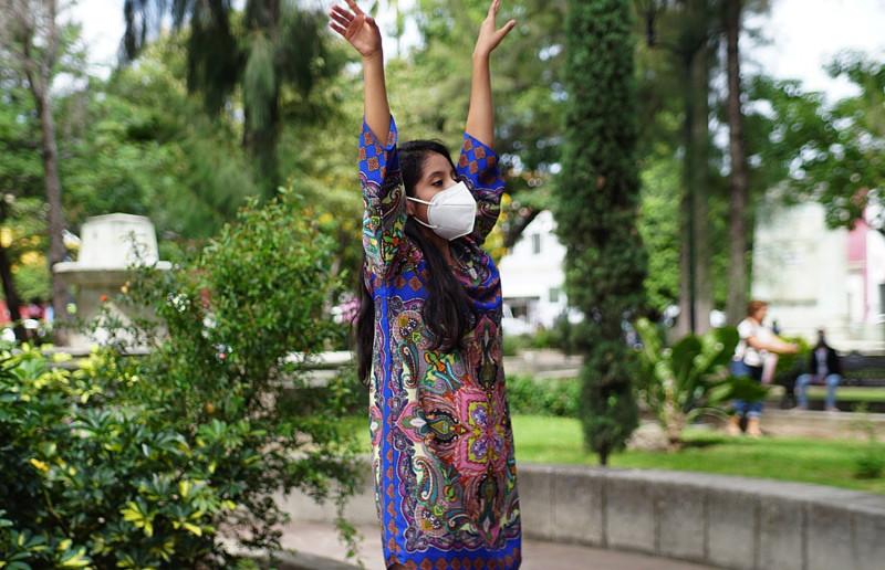 Aleida Ruiz, la joven bailarina mexicana que busca concientizar con la danza