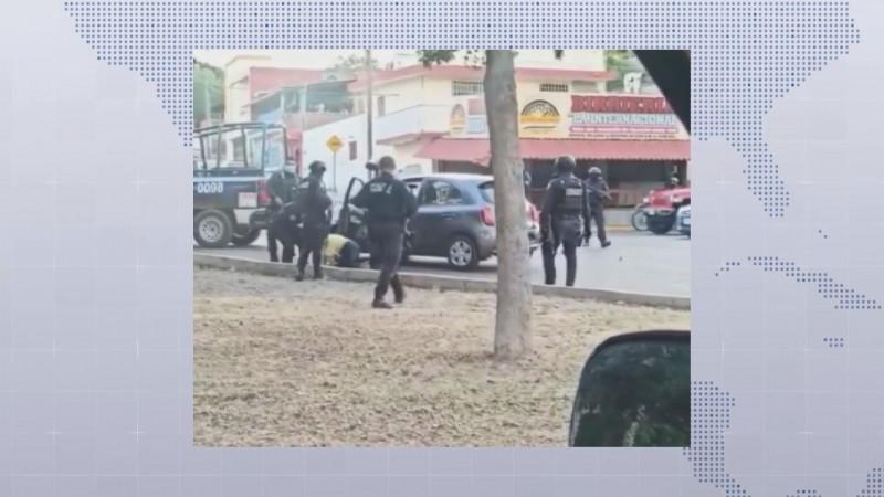 SSPytM de Culiacán justifica actuación de policía en detención de mujer