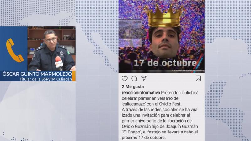 "Listo operativo para evitar disturbios en caso de que cumplan organizadores del ""Ovideo Fest"""