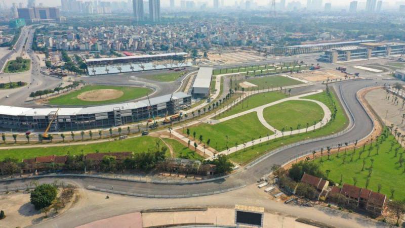 Suspenden Gran Premio de Vietnam en la F1