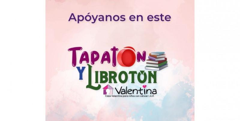 """Ven a TVP este miércoles y ayuda a niños de Casa Valentina donando en el nuevo """"Tapatón"""" y """"Librotón"""""""
