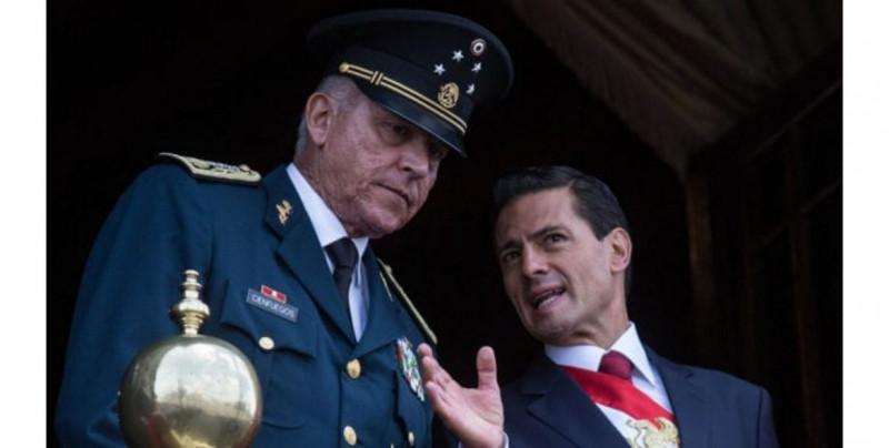 Corte de NY acusa de producción, tráfico y distribución de drogas al ex Secretario de Defensa de Peña Nieto