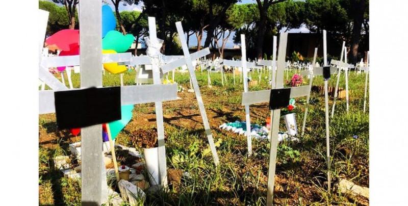 Cementerio de fetos en Italia causa indignación: fueron enterrados sin el consentimiento de sus madres