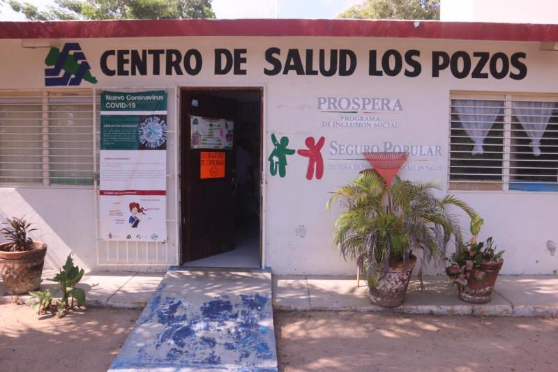 Entrega el Dr. Pineda ampliación del Centro de Salud en la comunidad de Los Pozos