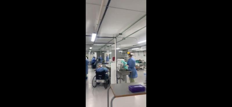Se indigna trabajadora del IMSS por incremento de casos de COVID y graba video