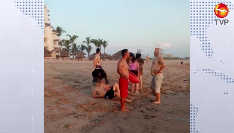 Escuadrón del Salvamento Acuático rescata a 4 bañistas