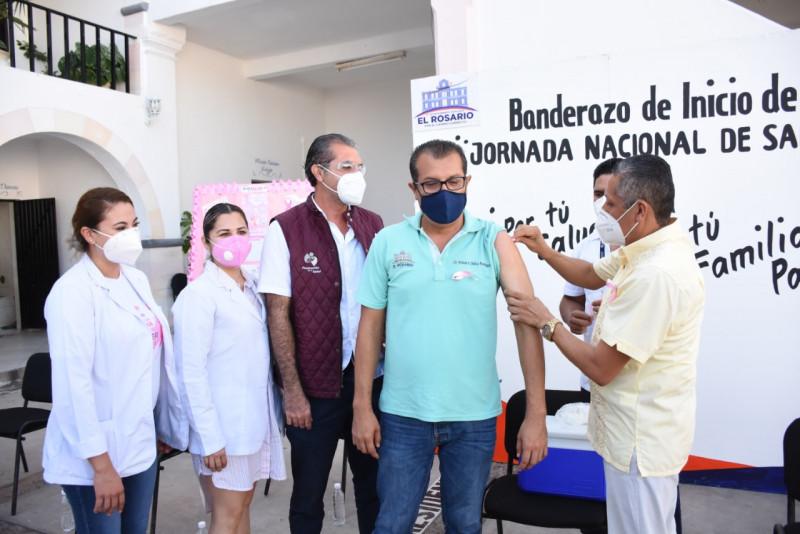 Inicia campaña de vacunación contra la influenza en Rosario
