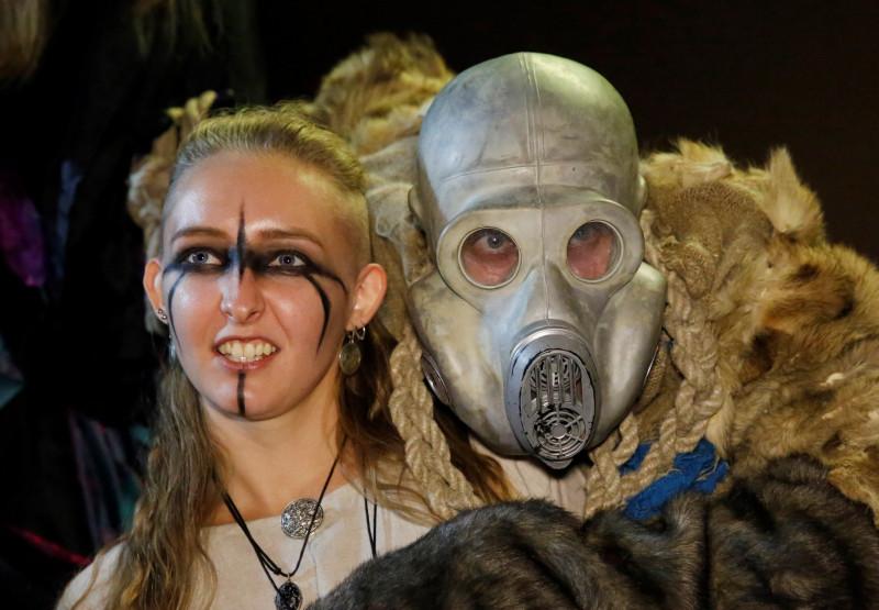 El Halloween del coronavirus