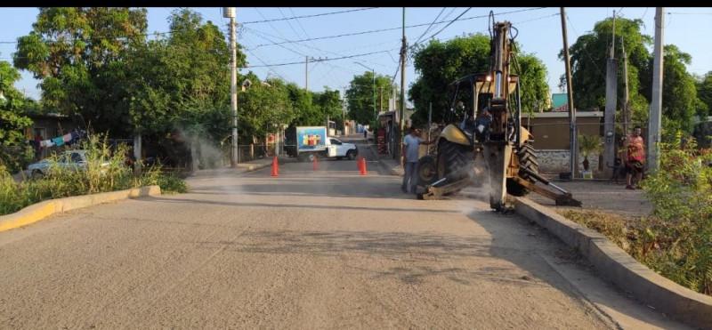 Cierre temporal de calles en Culiacancito por obras de reparación