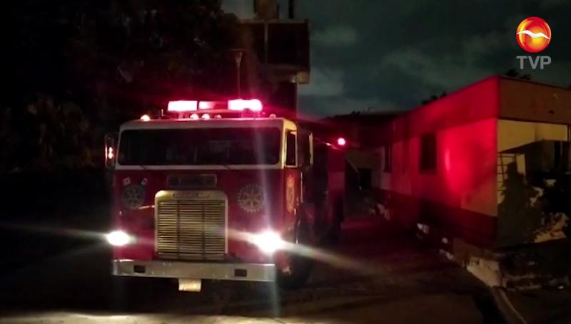 Alerta de incendio en antiguo Hospital General moviliza a bomberos