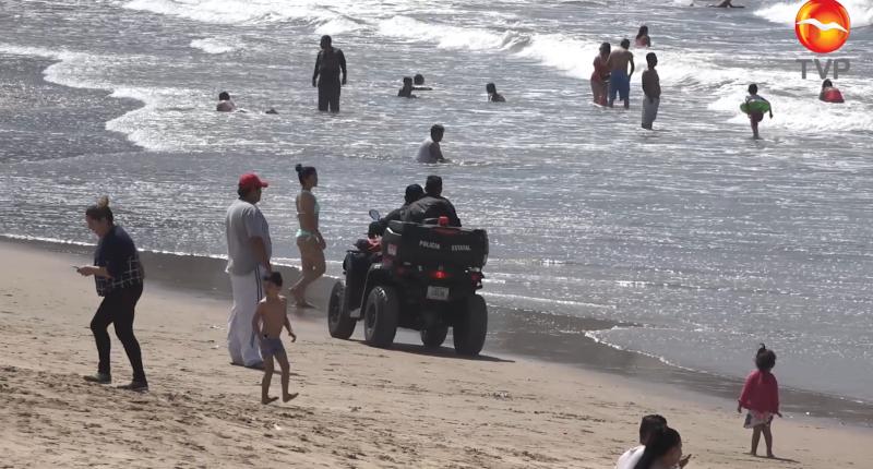 Llaman a respetar horarios de playa en Mazatlán