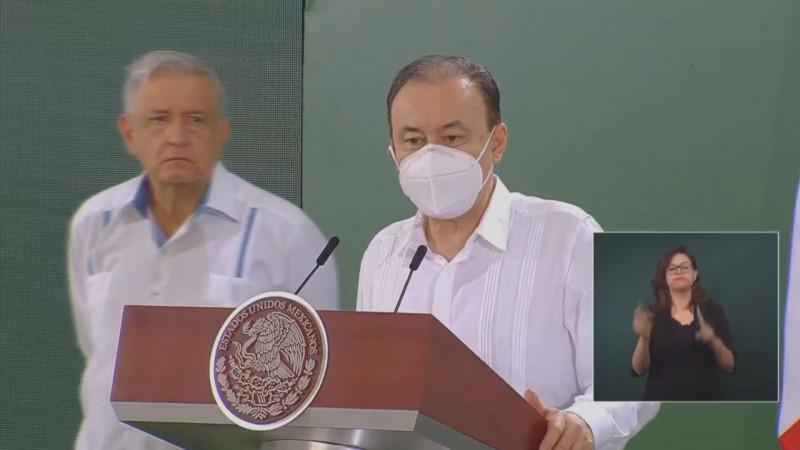 Alfonso Durazo se va de la Secretaría de Seguridad