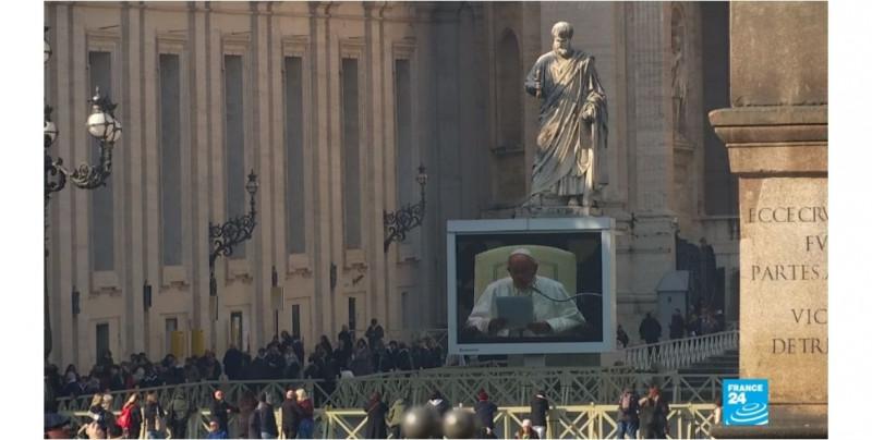 El papa Francisco a favor de las uniones civiles entre homosexuales