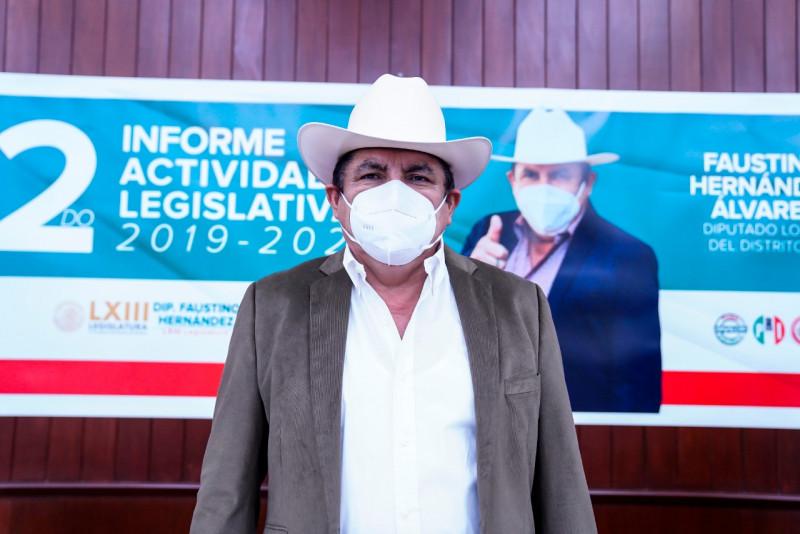 Faustino Hernández seguirá el lucha por mejorar las condiciones del campo sinaloense