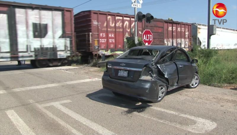 Llama la SSPM a no distraerse mientras se pasan cruces ferroviarios