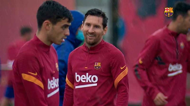 Barcelona se prepara para enfrentar al Real Madrid