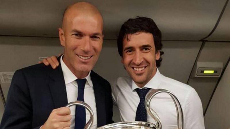 Raúl González podría sustituir a Zidane como DT del Real Madrid