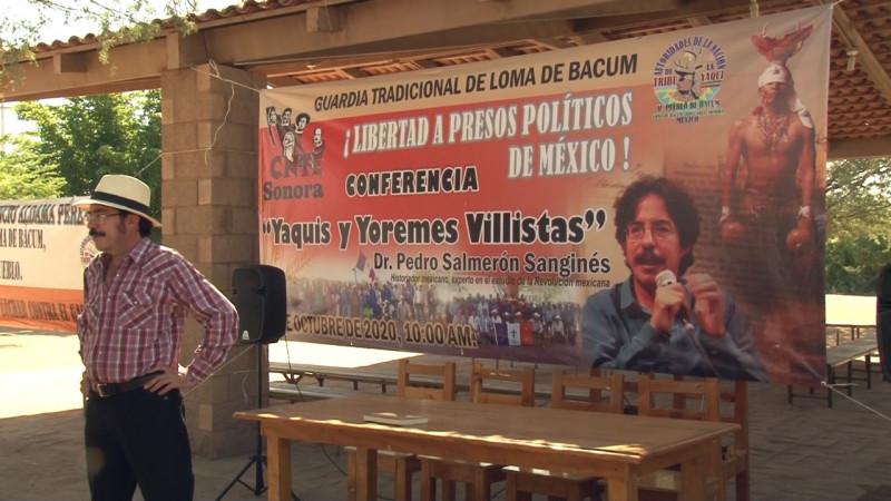 Persiste en Yaquis espíritu de resistencia ante cualquier intento de despojo: Historiador