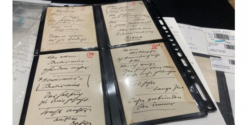 Subastan manuscritos de Hitler en más de 4.5 millones de pesos