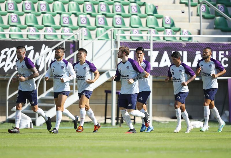 Mazatlán F.C. listo para su enfrentamiento ante Rayados