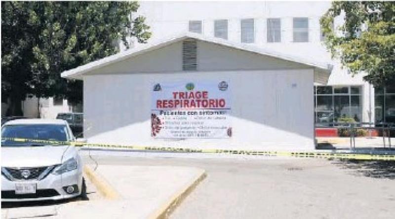 registra triage respiratorio del HG Los Mochis ligero incremento de casos covid