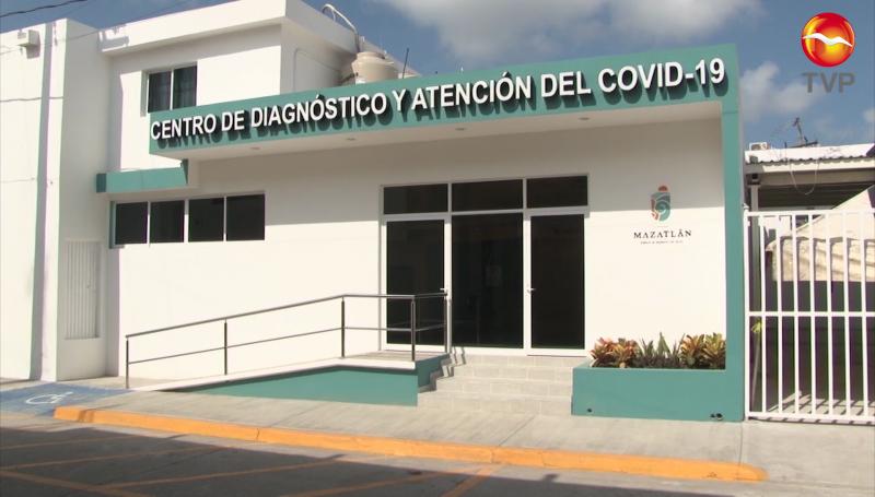 Reciben de 10 a 15 casos sospechosos en Centro COVID Mazatlán
