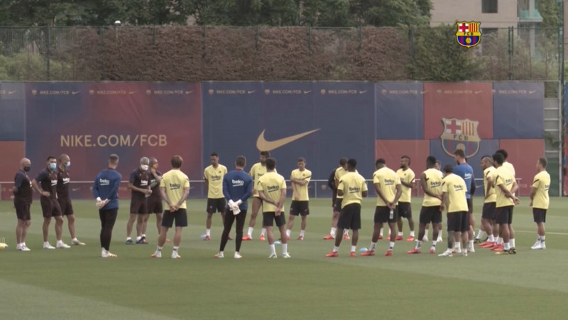 Barcelona se alista para enfrentar a la Juve