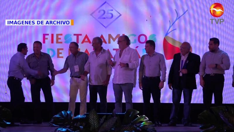 Se realizará en forma híbrida la Fiesta Amigos de Mazatlán