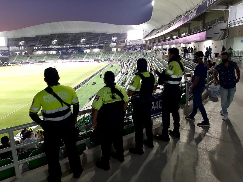 Brinda detalles Protección Civil de operativo en estadios