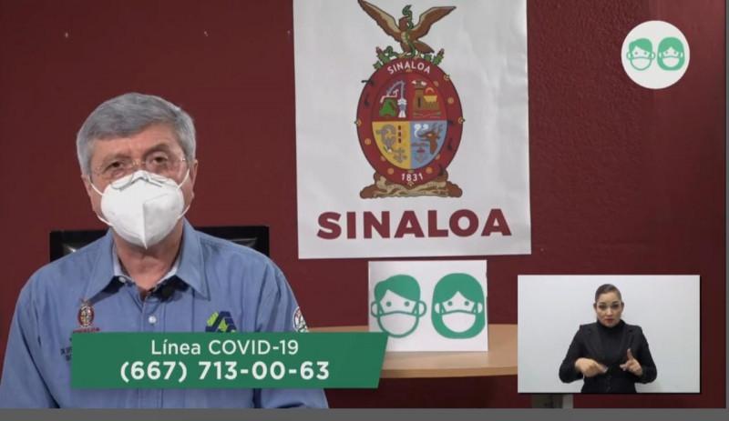 Suman 94 casos nuevos de COVID-19 en Sinaloa