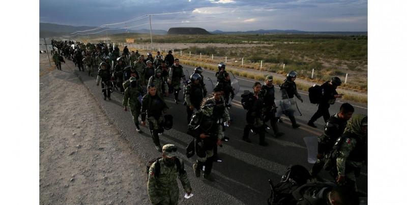 Guardia Nacional anuncia 6 detenciones por muerte de mujer en protesta por agua de Chihuahua