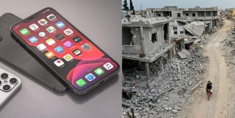 Ni la guerra, ni la escasez de alimentos evitan que el iPhone 12 se agote en 3 días en Siria