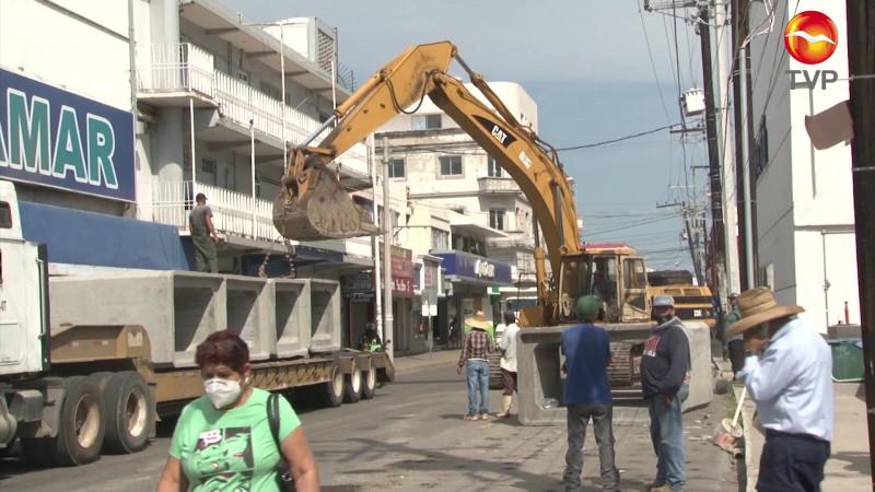 Hay cierre de calles en el Centro por obras
