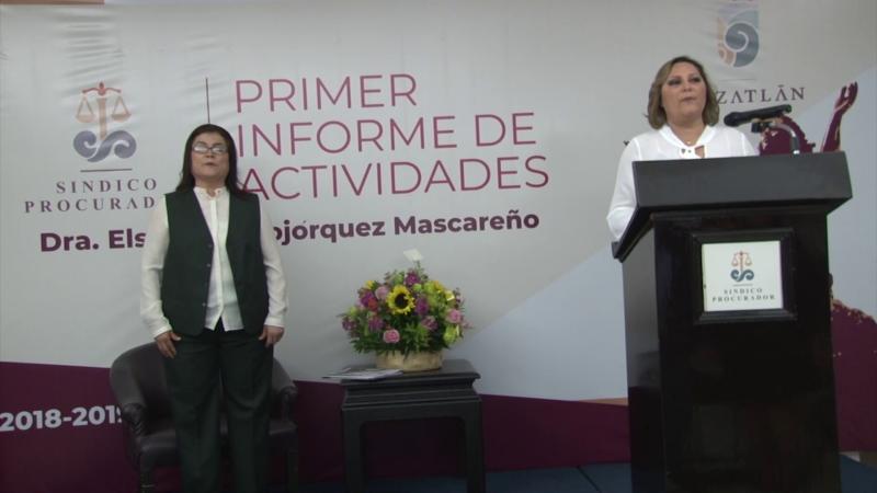 Prepara Síndico Procuradora su propio segundo informe de labores en Mazatlán