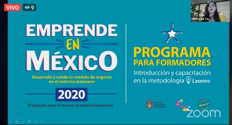 Becará Gobierno de Sinaloa a jóvenes para que sean instructores de emprendimiento