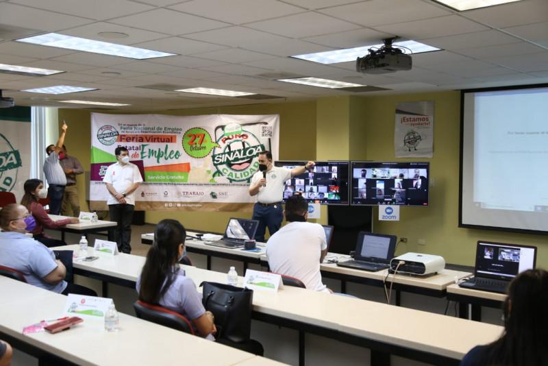 Realizan de manera virtual la Feria del Empleo Sinaloa
