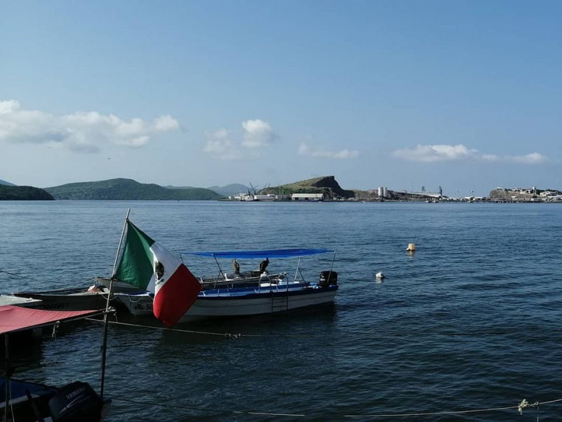 Reaperturan navegación a embarcaciones menores en Topolobampo