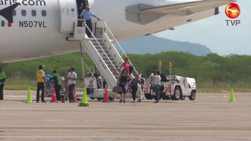 Concreta Sinaloa rutas e incremento de asientos aéreos