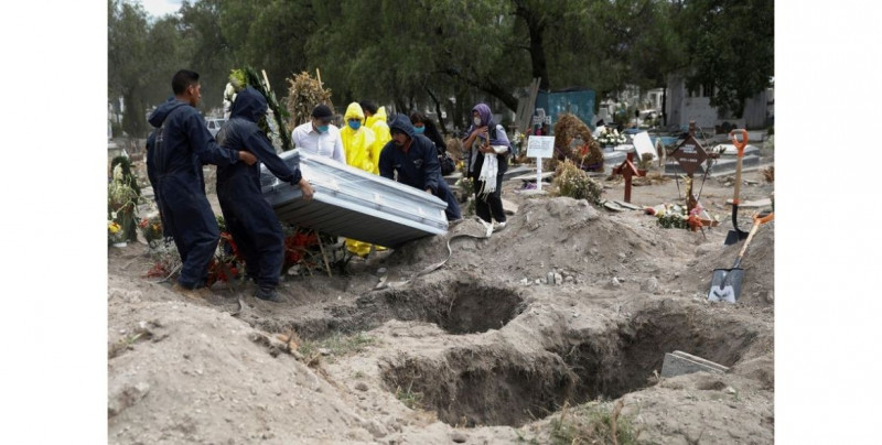 Siete meses de pandemia han provocado más muertes que todos los tipos de cáncer en México en 2019