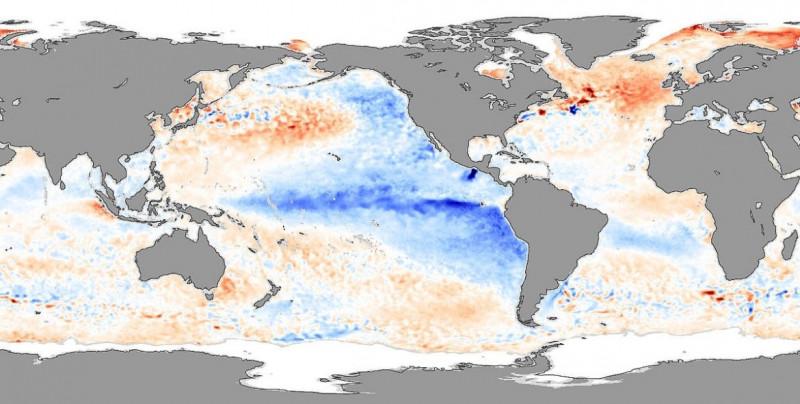 """""""La Niña"""" causa bajadas de temperatura y durará hasta 2021: Organización Metereológica Mundial"""