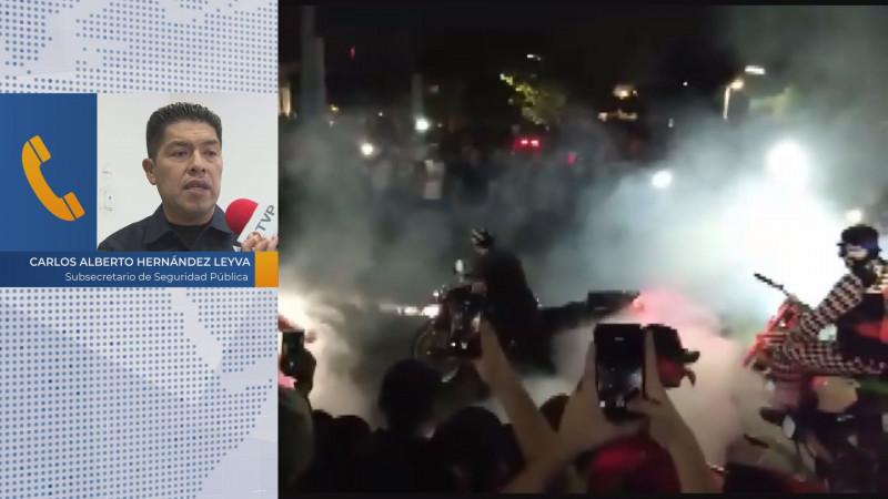 Alista SSP operativo para evitar disturbios durante celebraciones de halloween
