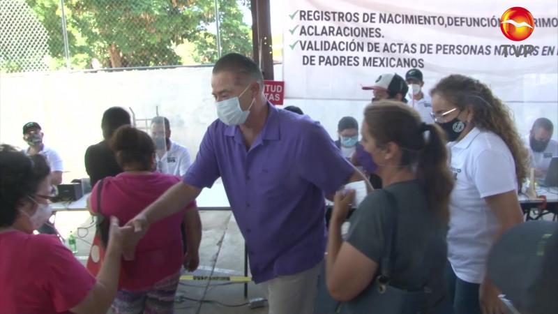 Llevan jornadas Puro Sinaloa hasta el Infonavit El Conchi