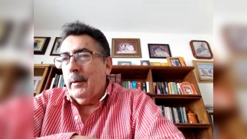Javier Lamarque dice que va por la alcaldía de Cajeme.