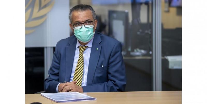 El director de la OMS en cuarentena tras tener contacto con un positivo de covid