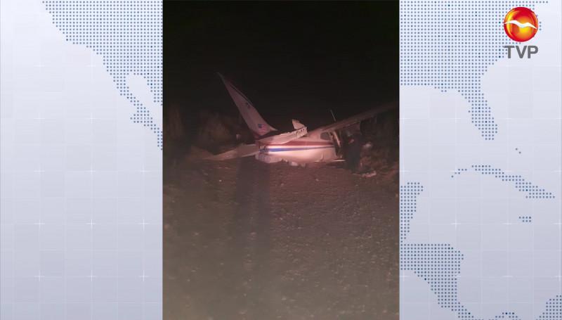 Se desploma avioneta cerca del Pozole, Rosario